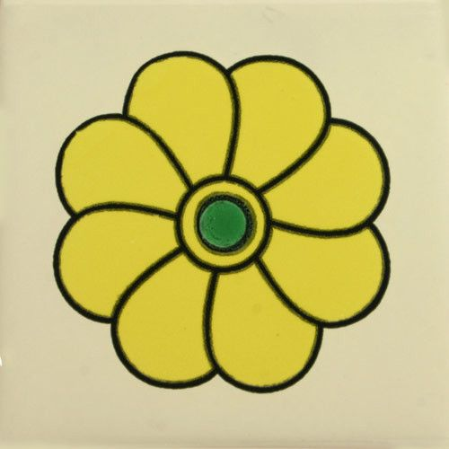 Especial Decorative Tile - Boton De Oro