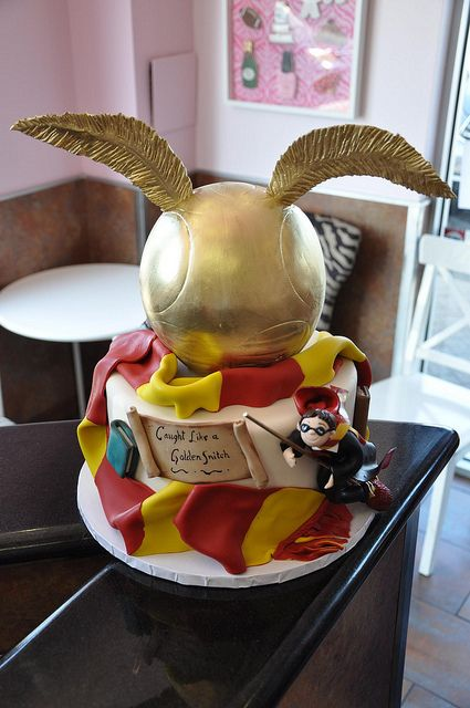 Harry Potter Cake by thecakemamas, via Flickr