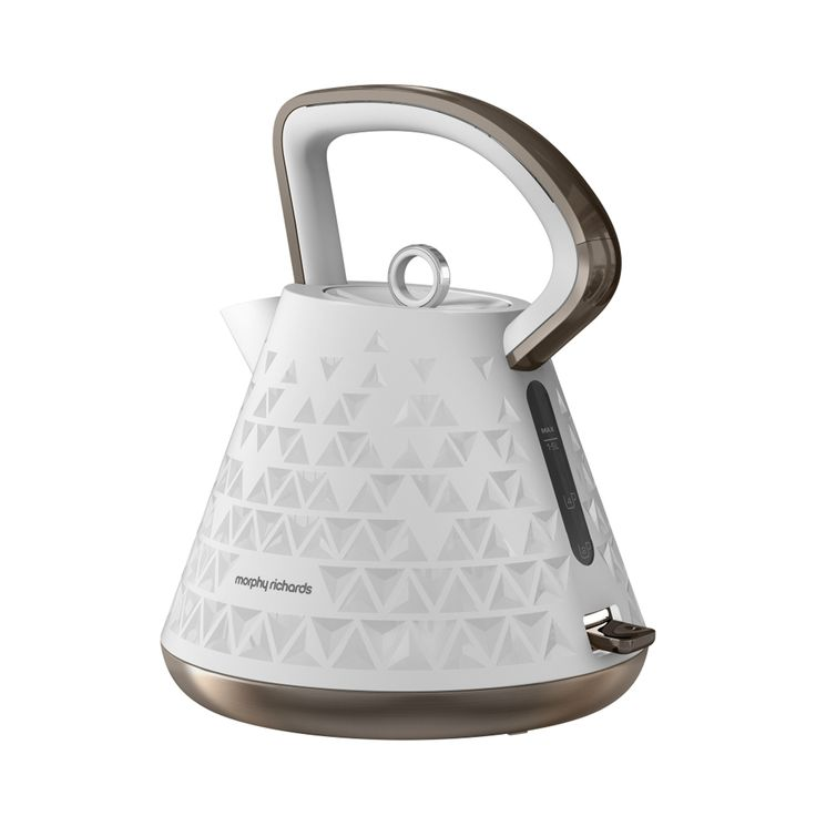 108102 White Prism Kettle