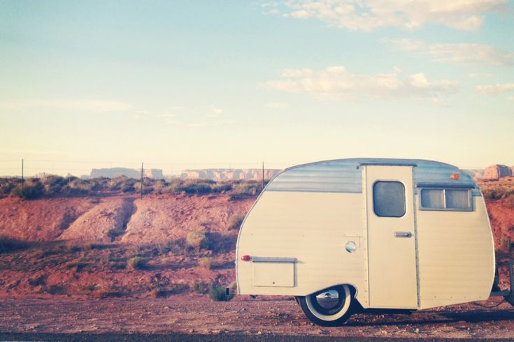 rent a vintage trailer with goodness travels