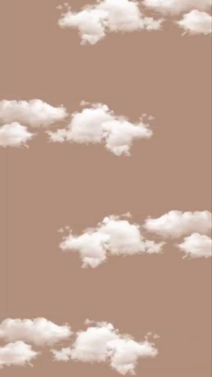 Cute Cloud Wallpaper Cloud Wallpaper Aesthetic Iphone Wallpaper Tan Wallpaper