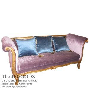 Antique Love 3 Seat Sofa Bench French Furniture Jepara Antique Sofa Bench 3 Seat Gilt Finish antique reproduction furniture Jepara Indonesia factory price.