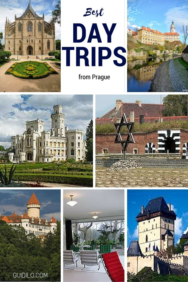 There are more than enough activities, sights and hidden places to keep you busy in Prague forever, but if you have seen all the top tourist attractions and still have a day or two in Prague left then you may want to take a journey out of this bustling city to see some of the surrounding areas. Here is a list of five suggestions for daytrips from Prague!