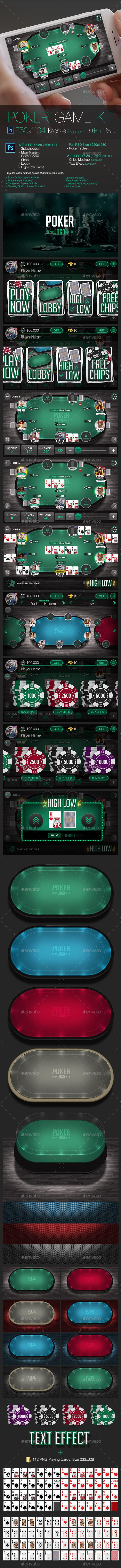 Poker Game Kit - Game Kits #Game Assets Download here:  https://graphicriver.net/item/poker-game-kit/19551675?ref=alena994