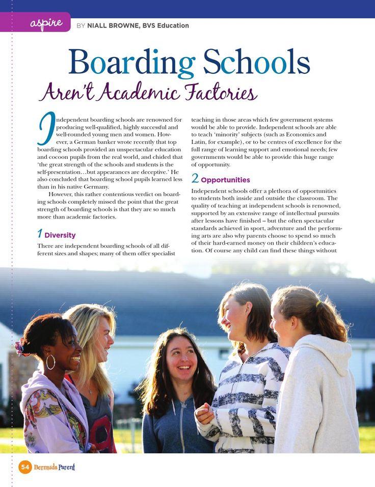 Boarding Schools #BermudaParentMagazine