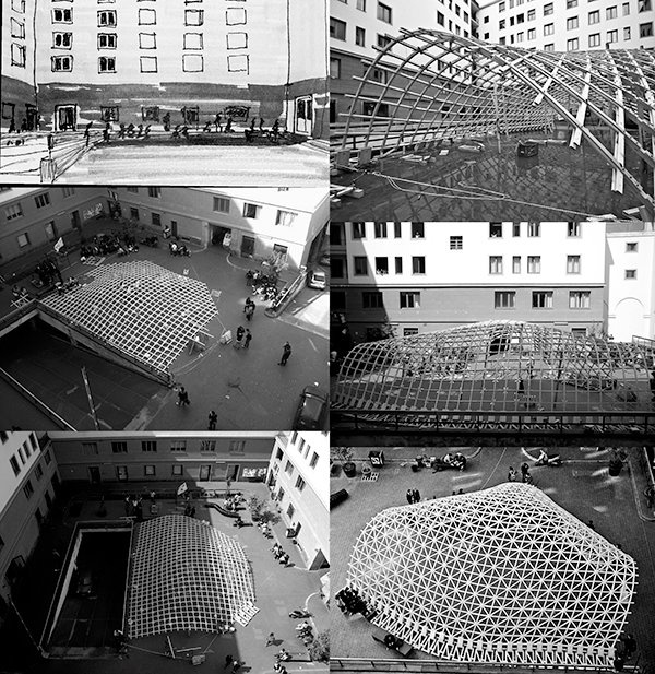 Toledo Gridshell push up  www.gridshell.it