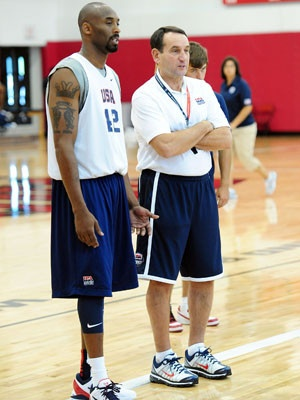 Kobe and Coach K, Team USA go after the gold medal once again.