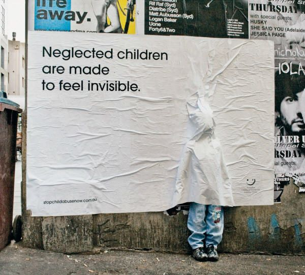 Australian childhood foundation invisible