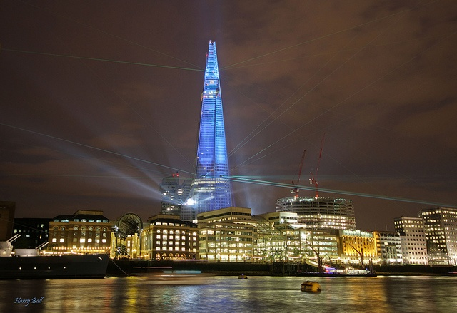 The Shard, London by Harry Ball, via Flickr