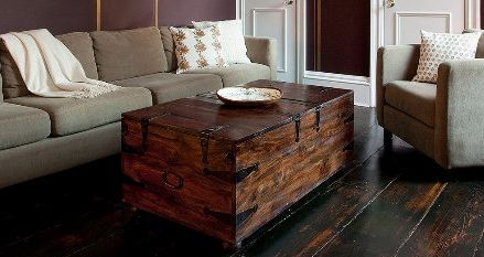 coffee table - crate and barrel