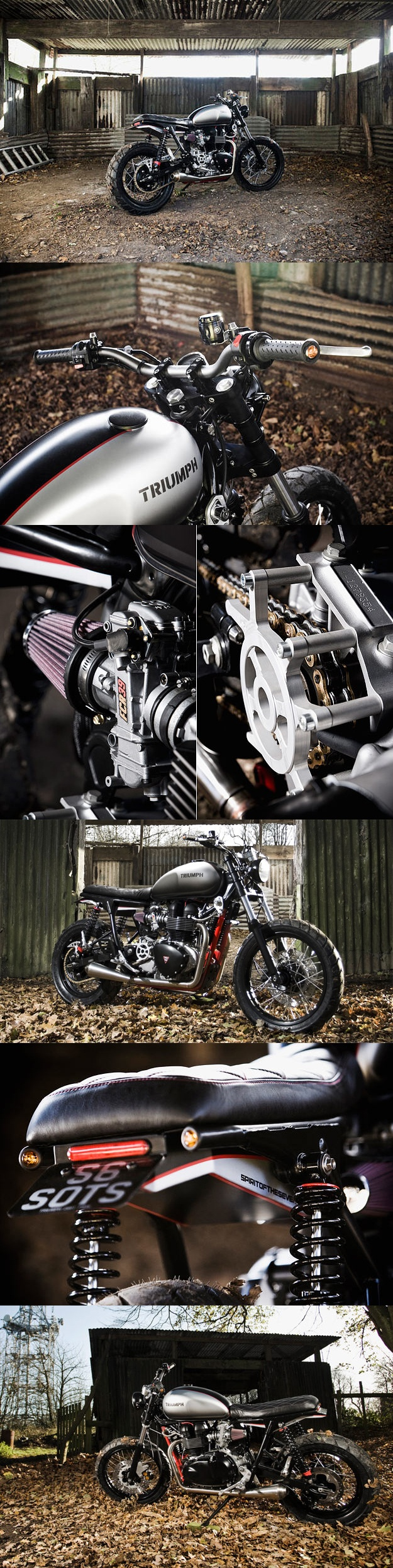 #Triumph Scrambler Custom - SPIRIT OF THE SEVENTIES S6
