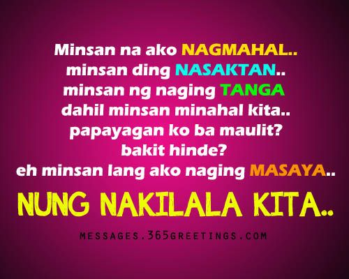 Sad Tagalog Love Quotes - Messages, Wordings and Gift Ideas