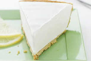 A filling of lemonade drink mix, vanilla ice cream and whipped topping is spooned into a graham cracker crust and frozen for a super-easy pie.  Print Recipe Email Recipe