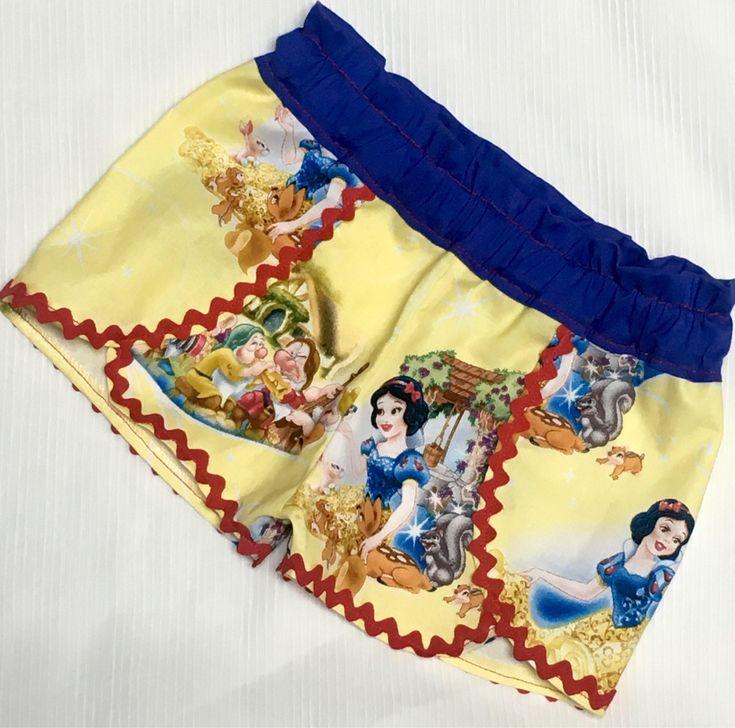 Snow White Coachella Tulip Petal Shorts https://www.etsy.com/listing/525366050/snow-white-seven-dwarfs-girls-coachella