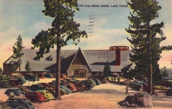 Cal-Neva Lodge postcard