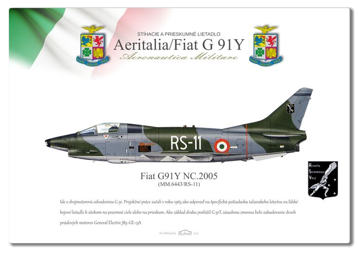 Aeritalia (Fiat) G91Y