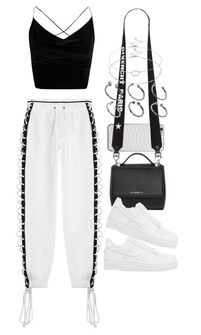 """Untitled #2502"" by mariie00h ❤ liked on Polyvore featuring Puma, Jamie Clawson, Boohoo, Givenchy, NIKE, Accessorize and ASOS"