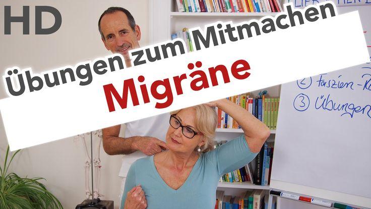 Migräne Übungen zum Mitmachen // Migräne, Kopfschmerzen, Faszien Training