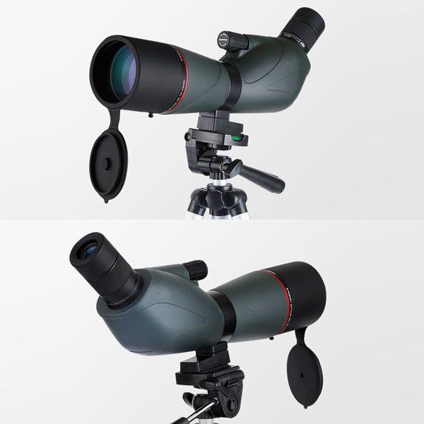 New Zoom Monocular Telescope Fully Multi-Coated 15-45x60 Angled Spotting Scope