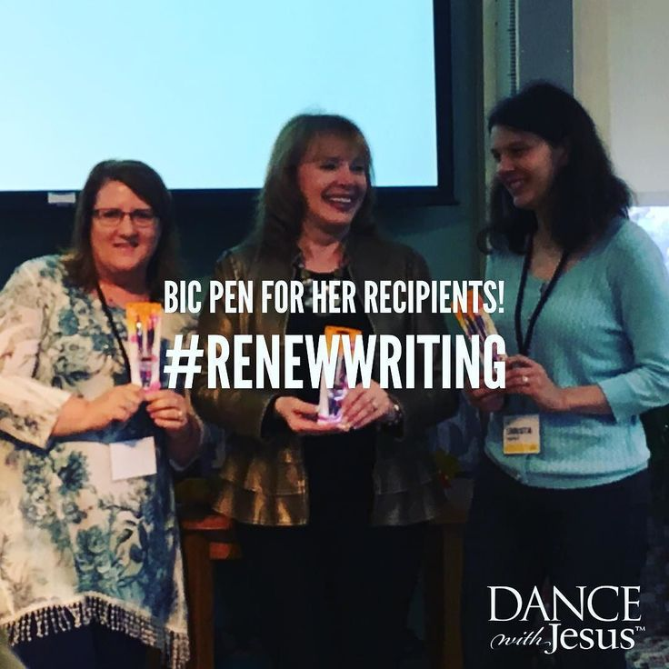 Bic Pen for Her Recipients! #reNEWwriting LOL! How fun to have a sense of humor. @doanewthing @carolkent @kristaparrish