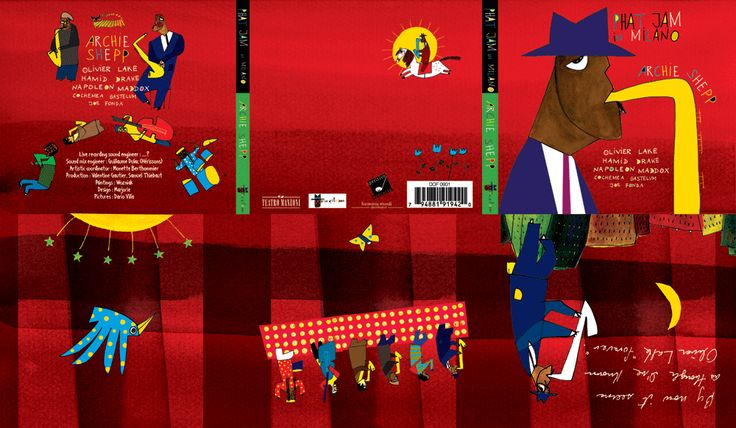 PHAT JAM Archie Shepp- sax Napoleon Maddox-vocal -beatbox  Hamid Drake-Drums Tom Mc Clung - Fender RhodesCocheme a Gastelum- Alto Sax     Sil Matadin - bass   Diabolo - harmonica  Wozniak -Painter                          LIBAN JAZZ  - BEYROUTH 2005