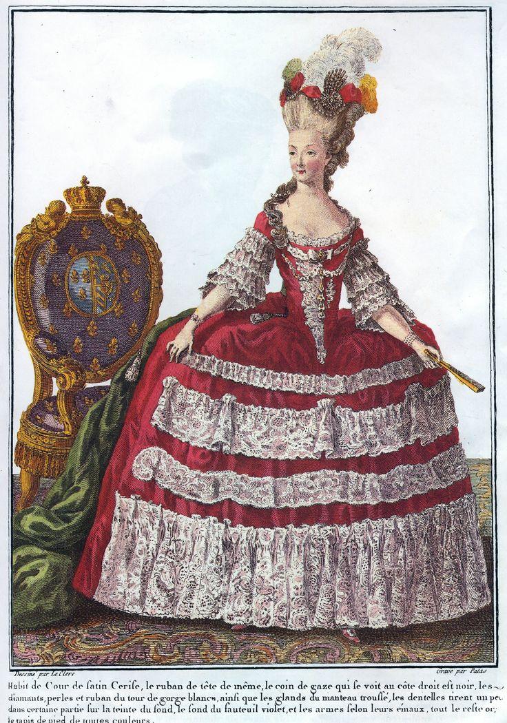 Queen Marie-Antoinette print by LeClerc