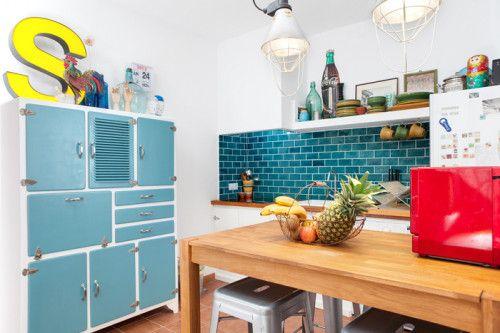 Kitchen; Mediterranean Spanish Beach House - Design Sponge