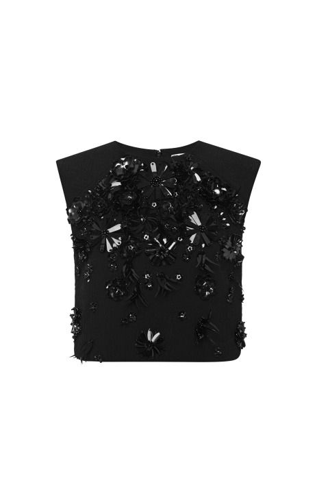 Embellished Top by MSGM - Moda Operandi