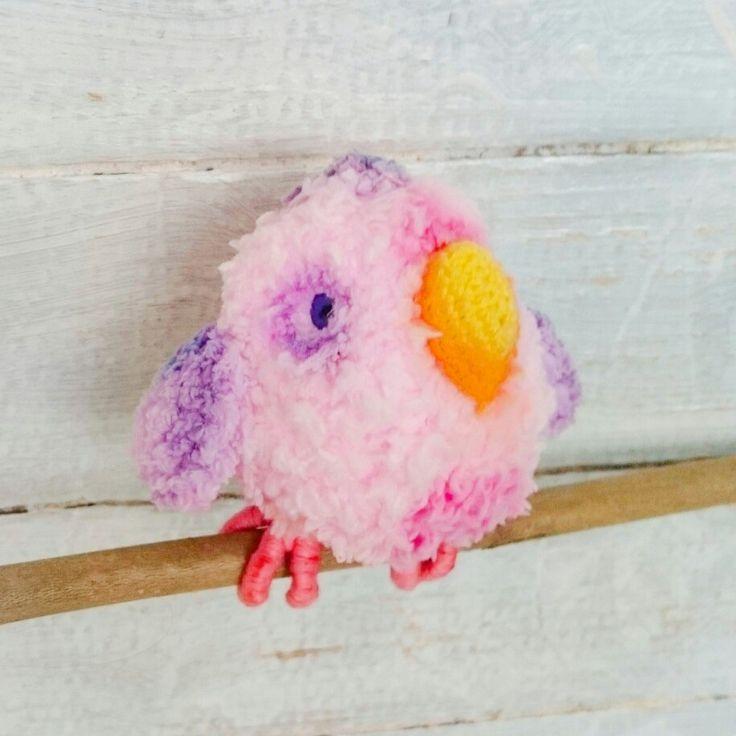 #Crochettiky #crocheted #parrot #amigurumi #plushies