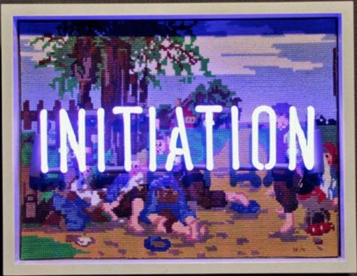 Olivia Steele, 'Initiation'