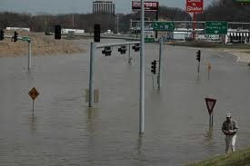 Mississippi River flooding in St. Louis