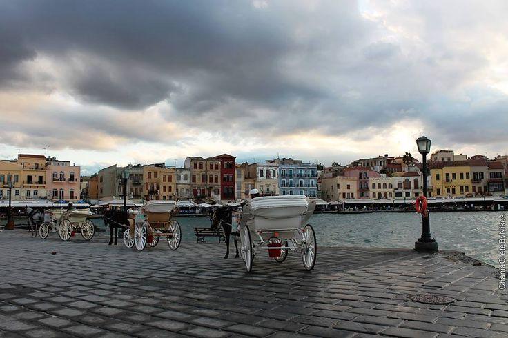 Xania Crete port