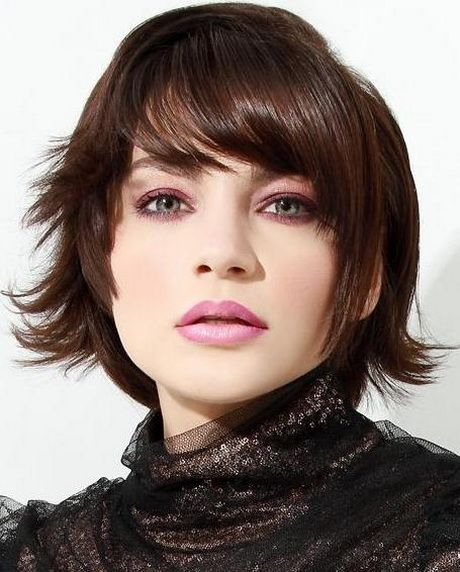 Short Layered Bob Hairstyles With Bangs: Best 25+ Layered Bob With Bangs Ideas On Pinterest