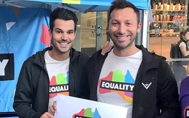 """Local and international celebrities have congratulated Australia for today's announcement of a """"yes"""" vote in the same-sex marriage postal survey.  On Wednesday morning, Australian Bureau of Statistics announced the """"yes"""" vote had prevailed with more than 61% of the vote.  Magda Szubanski, who campaigned tirelessly for the """"yes"""" vote, told Nine News she was """"overjoyed"""" by the result.   #ian thorpe #marriage equality #same-sex marriage"""