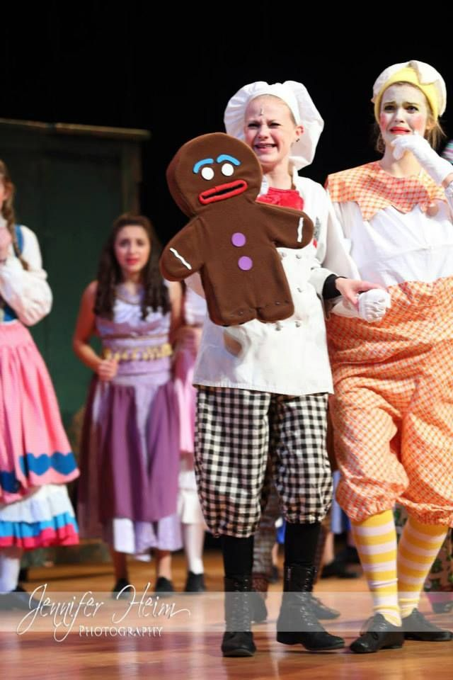 Shrek the Musical Gingy Gingerbread Man Puppet  Available for Rent! www.spotlight.org/rentals