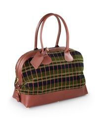 A Greenline moquette holdall designed and handcrafted by Matt Fothergill in Shropshire.