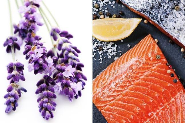 Salmon with Lavender Recipe @Barbara Acosta Acosta Acosta Acosta Acosta Acosta Herring