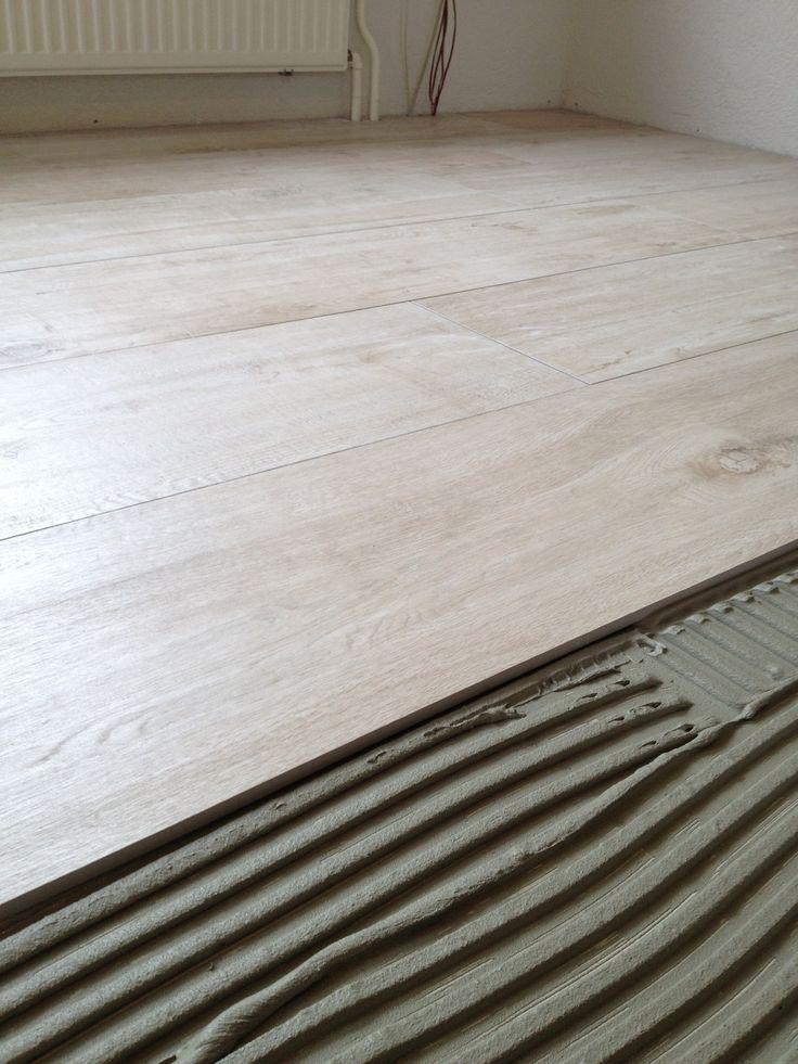Tegelwerk keramisch hout