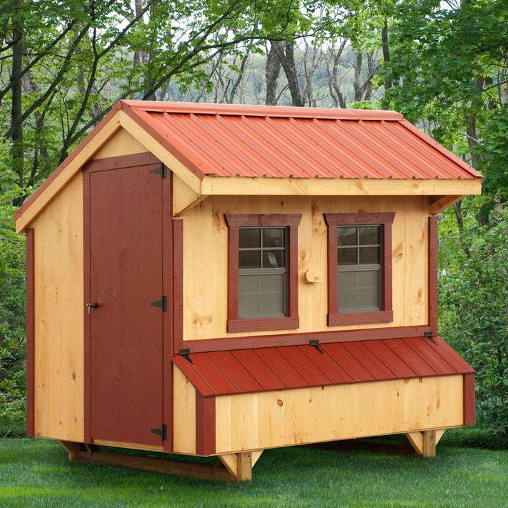 Amish 5w X 8l Quaker Chicken Coop Best Chicken Coop