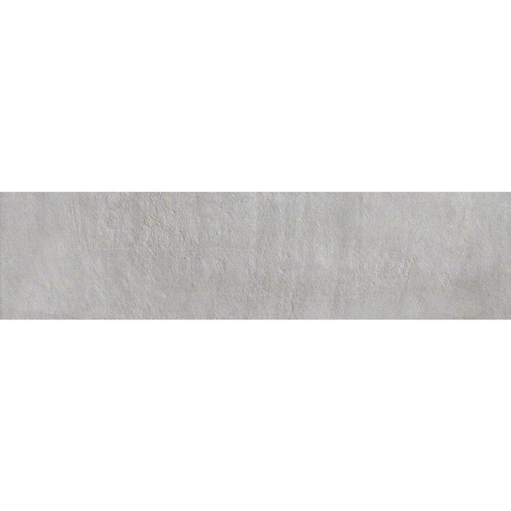 Style Selections Cityside Gray Porcelain Floor And Wall Tile Common 6 In X