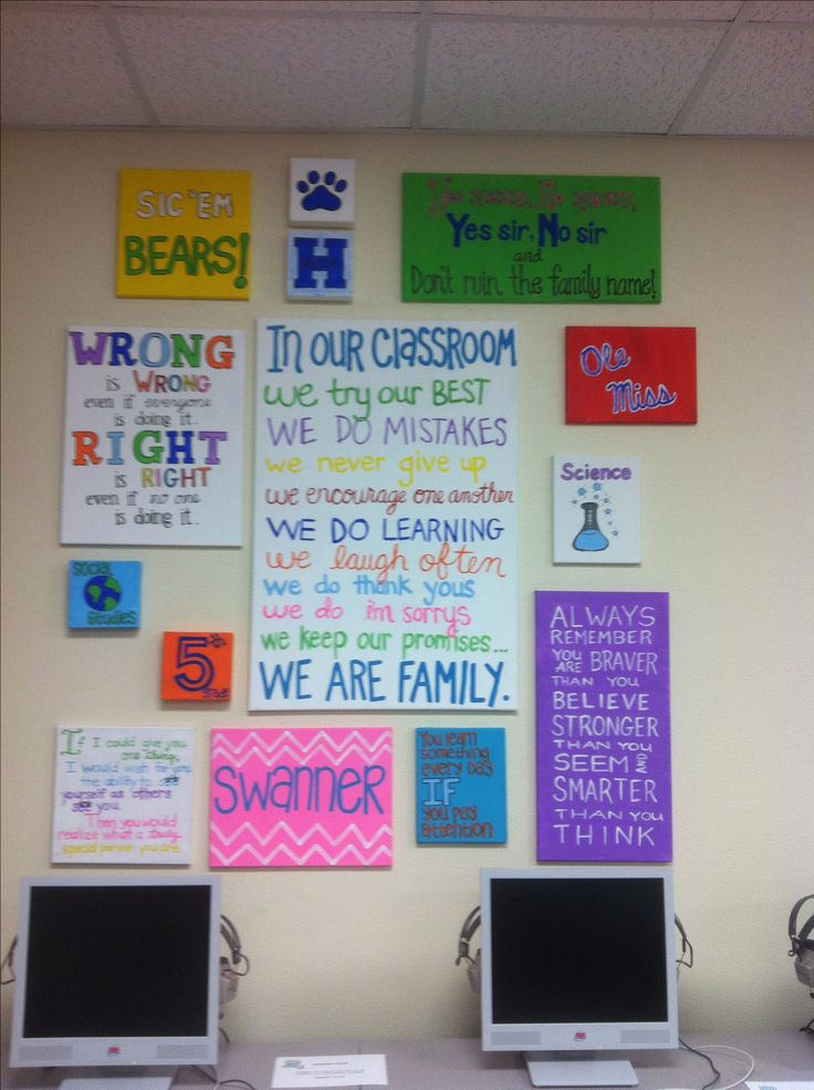 Classroom Decoration Ideas Quote ~ Quotes on canvas for my th grade classroom