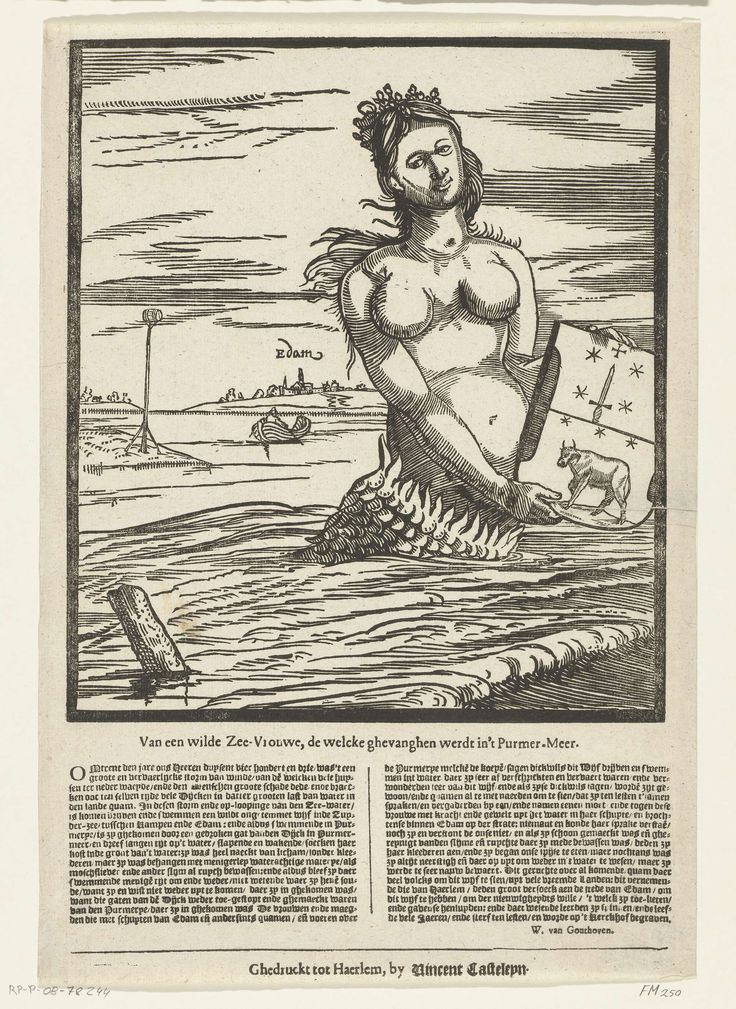 Zeemeermin van Edam, 1403, Anonymous, Vincent Casteleyn, W. van Gouthoven, 1600 - 1799