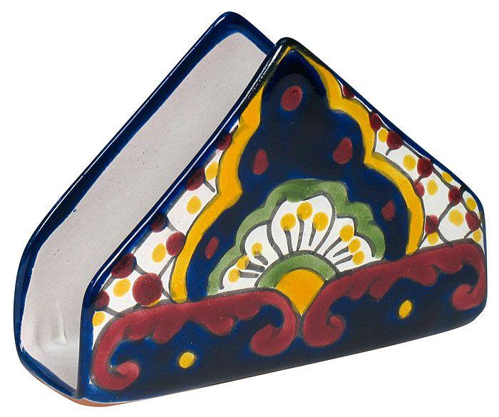 Talavera Traditional Napkin Holder