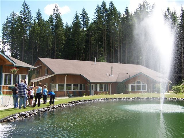 With three accessible Cabins and a mixture of private and dorm rooms, we can sleep up to 110 people on site. #summercamp #outdoorweddings #greatoutdoors
