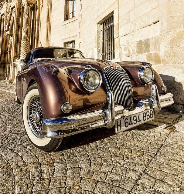 Jaguar XK. That colour!