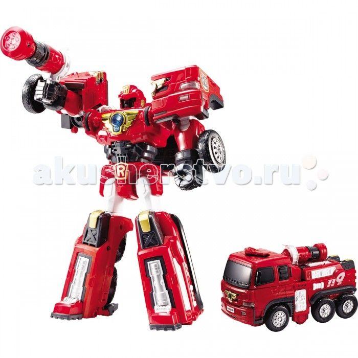 Tobot Робот-трансформер R - Пожарный  Tobot Робот-трансформер R - Пожарный персонаж знаменитого мультсериала Tobot.   Это отважный и сильный робот, которым управляют братья Райан и Кори.  Ребенок с легкостью сможет трансформировать красного робота в пожарную машинку с помощью 2 ключей-токенов, прилагающихся к роботу.  Трансформацию можно проводить большое количество раз, так как детали плотно скреплены между собой. У мощного робота есть мега-пистолет, который он использует для борьбы со…