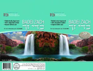 Badei Zach Bedikah Cloths (T-shirt) SUPER Soft 30/pk by Badei Zach. $3.25