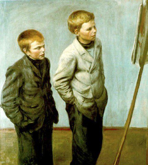 Brothers - Hugo Simberg (1873 – 1917, Finnish)