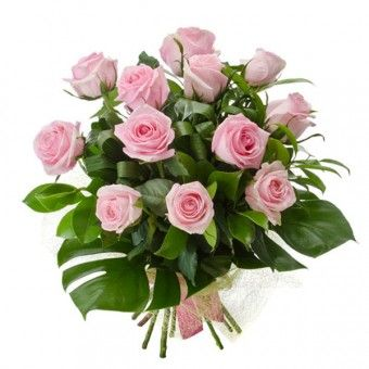 Muhlifain is a #dozen of #pink #roses in a #handbouquet perfect for #wedding and #anniversaries.