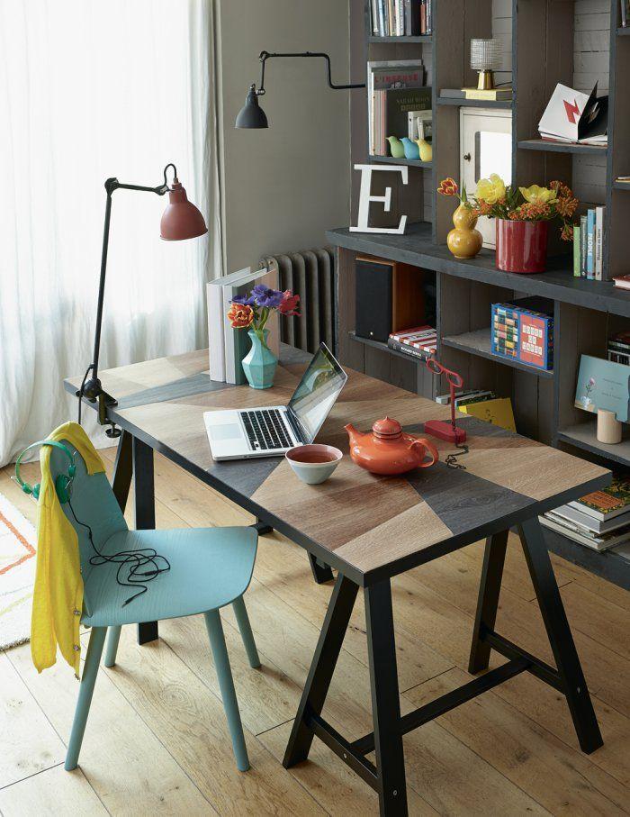 Déco un bureau diy diy desk marie claire idées